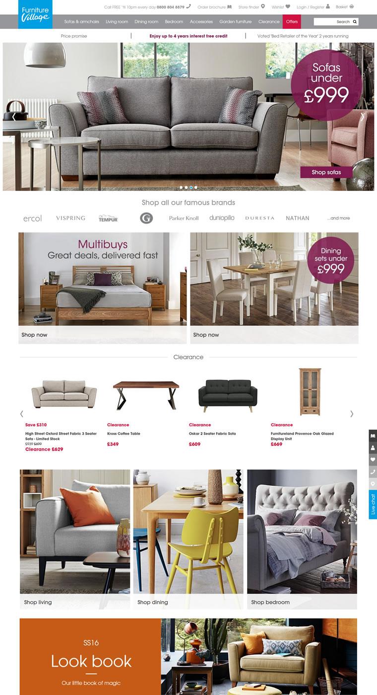 英国最大的独立家具零售商:Furniture Village