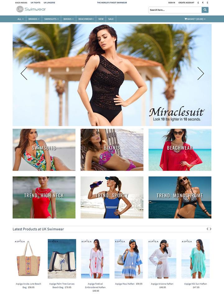 世界领先的泳装网站:UK Swimwear