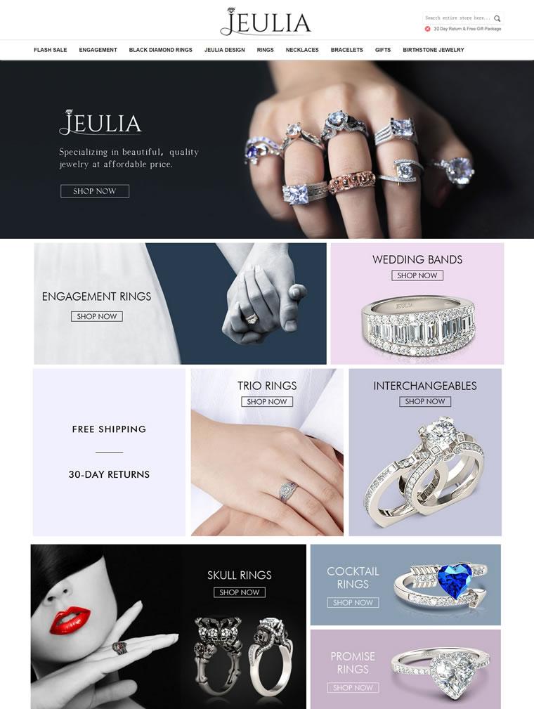 美国珠宝网上商店:Jeulia