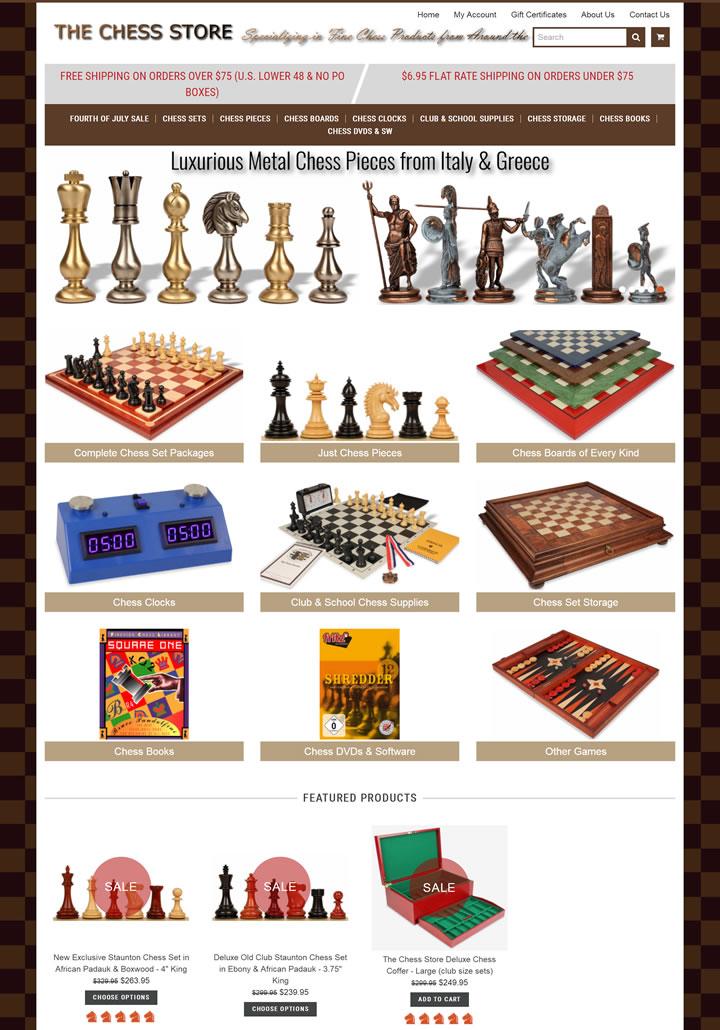 国际象棋商店:The Chess Store