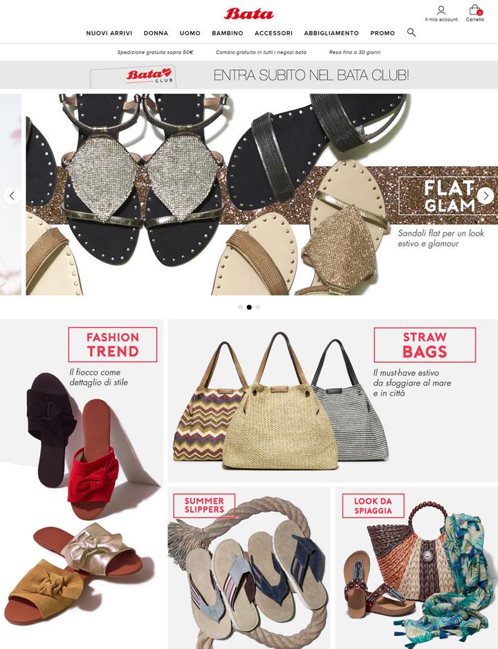 Bata女鞋意大利官网:百年鞋业品牌