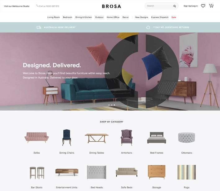 澳大利亚家具和家居用品在线:BROSA