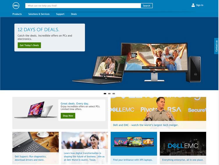 戴尔加拿大官网:Dell加拿大