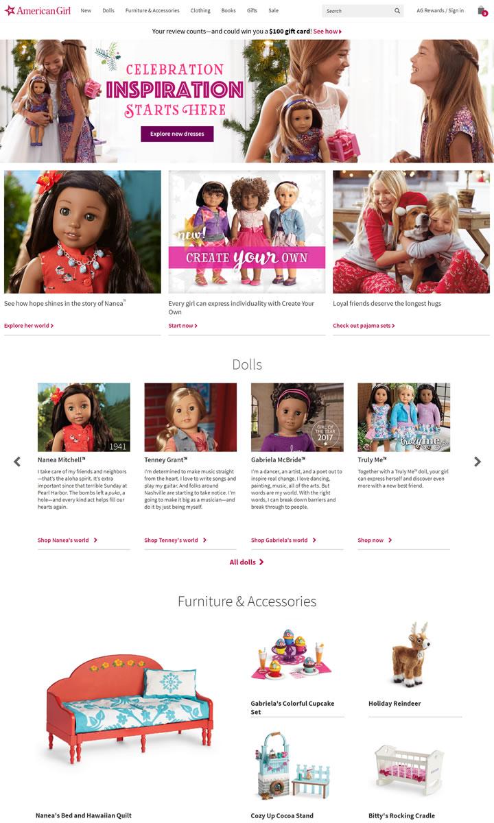 美国女孩洋娃娃店:American Girl