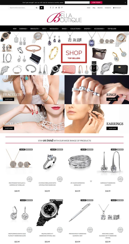 澳大利亚时尚珠宝精品店:Bella Boutique