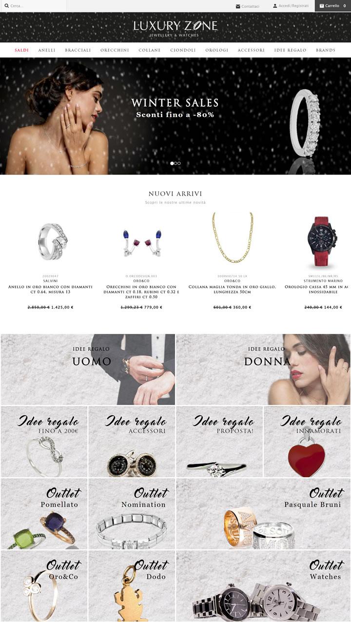 意大利珠宝店:Luxury Zone