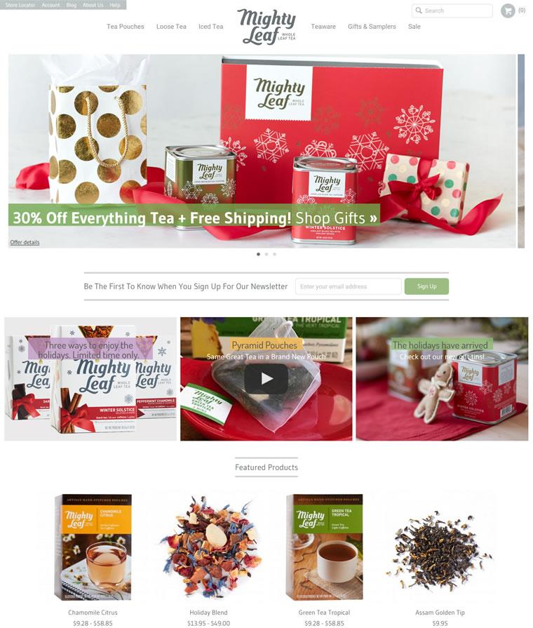 美国顶级奢侈茶:Mighty Leaf Tea(美泰茶)