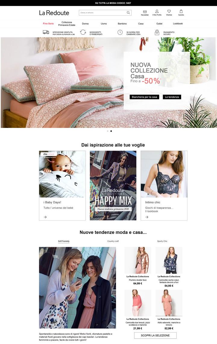 La Redoute意大利官网:法国时尚在线