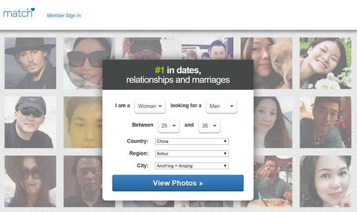 全球知名的婚恋交友网站:Match.com