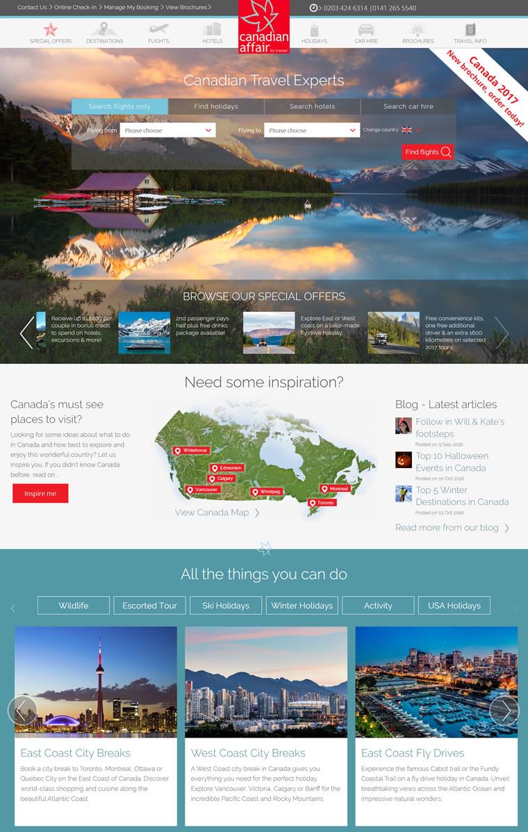 加拿大旅游专家:Canadian Affair