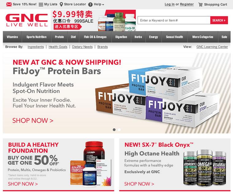 GNC健安喜美国官网:美国第一营养品牌