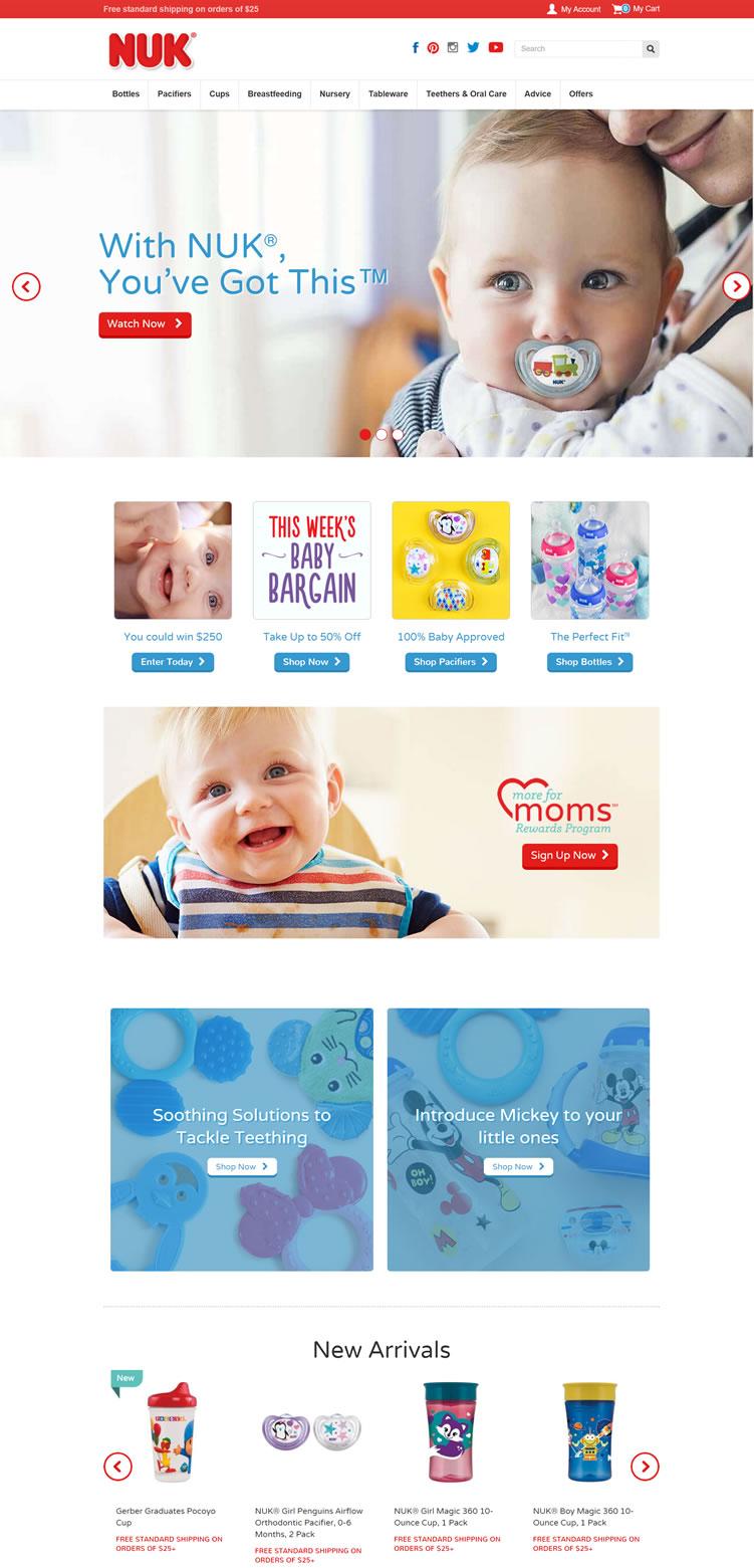 NUK奶瓶美国官网:NUK美国
