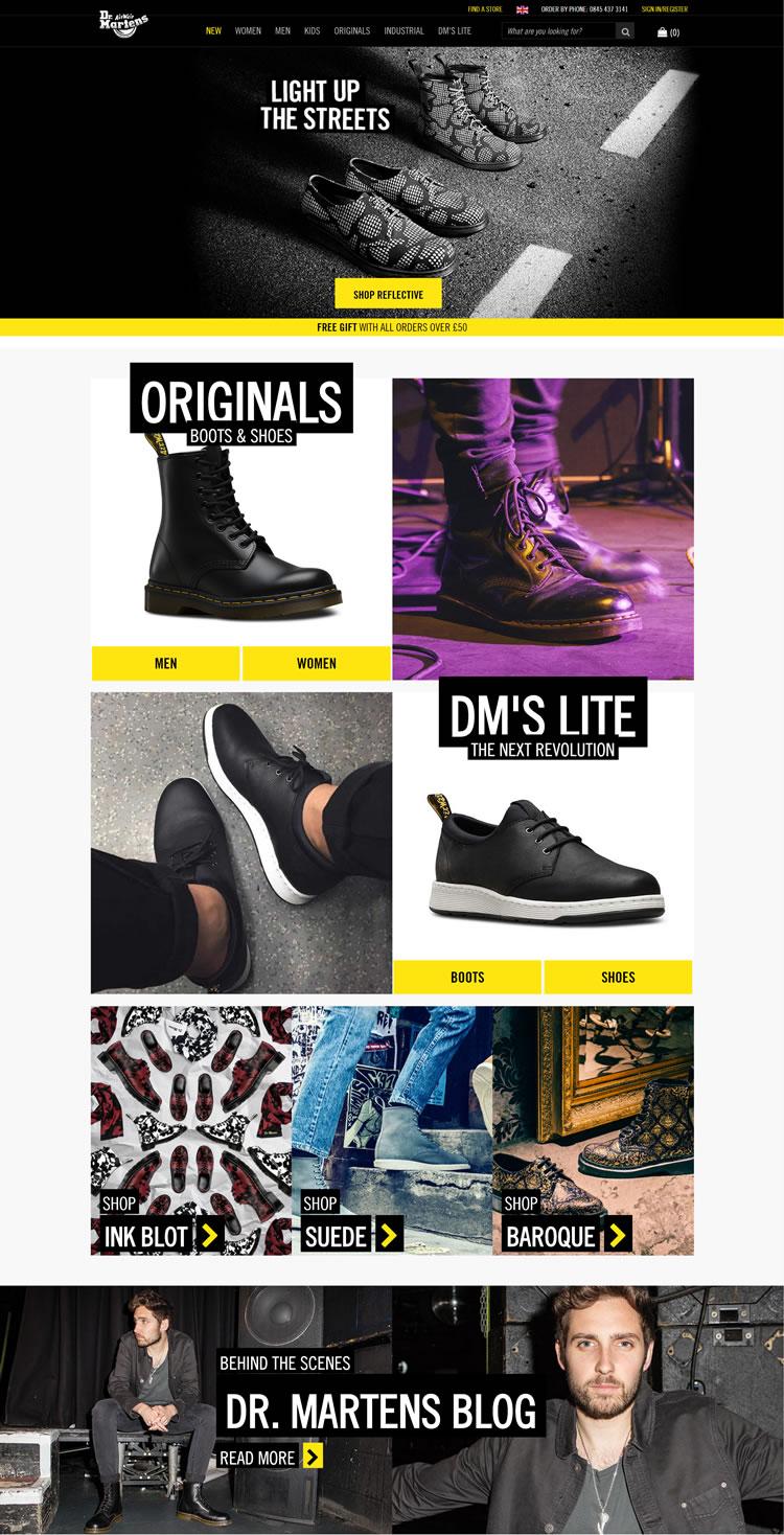 Dr. Martens马汀博士官网:马丁靴始祖品牌