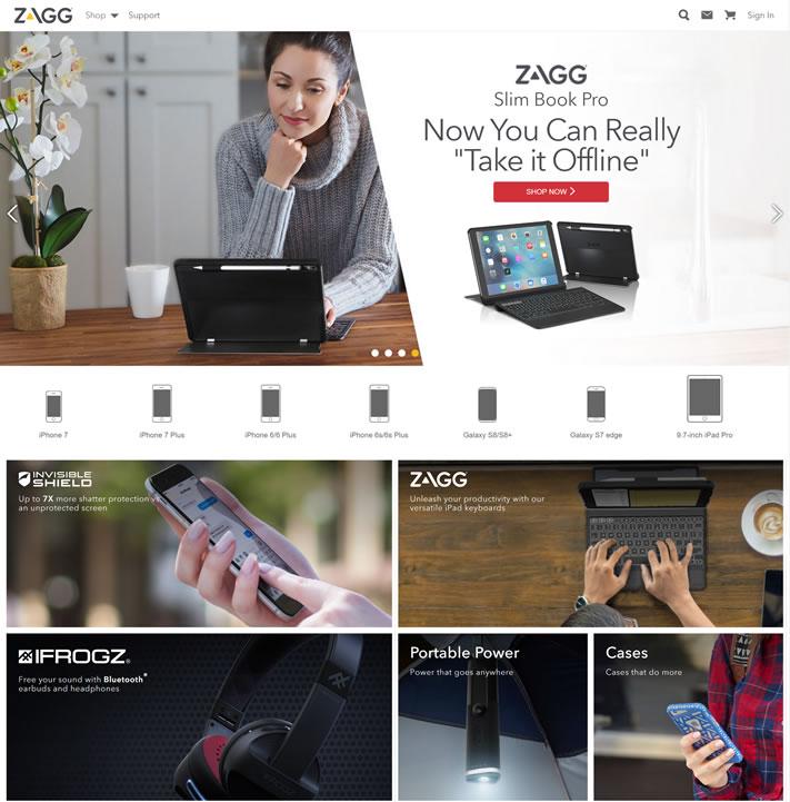 手机配件第一品牌:ZAGG