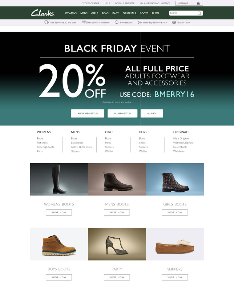 Clarks英国官方网站:全球领军鞋履品牌