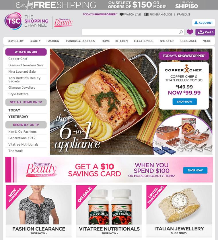 加拿大购物频道:The Shopping Channel