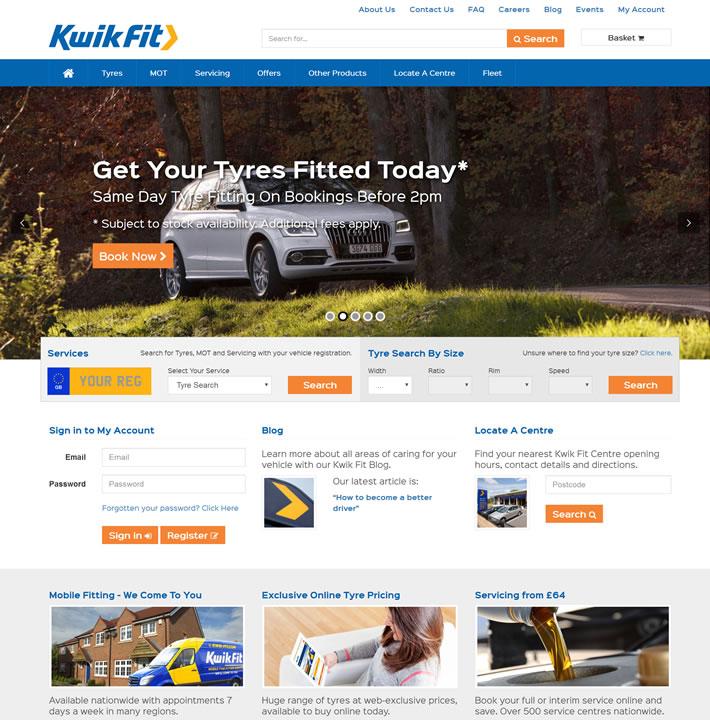 英国领先的汽车轮胎和快速健康中心:Kwik Fit