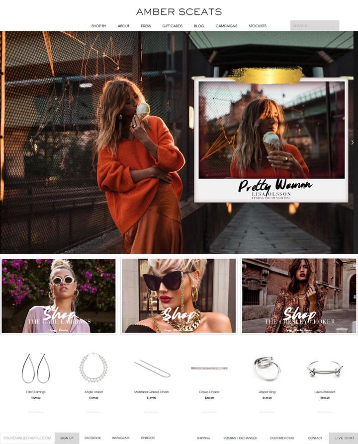 澳大利亚时尚前卫设计师珠宝在线:Amber Sceats