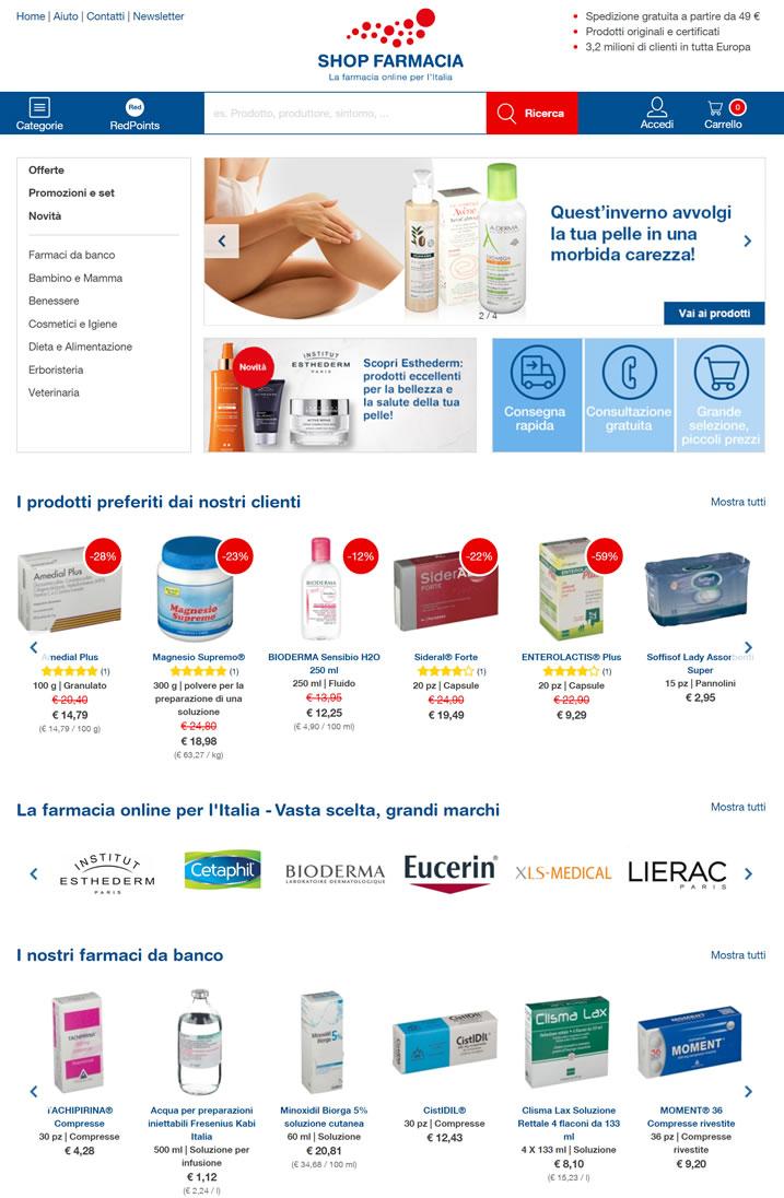 意大利在线药房:shop-farmacia.it