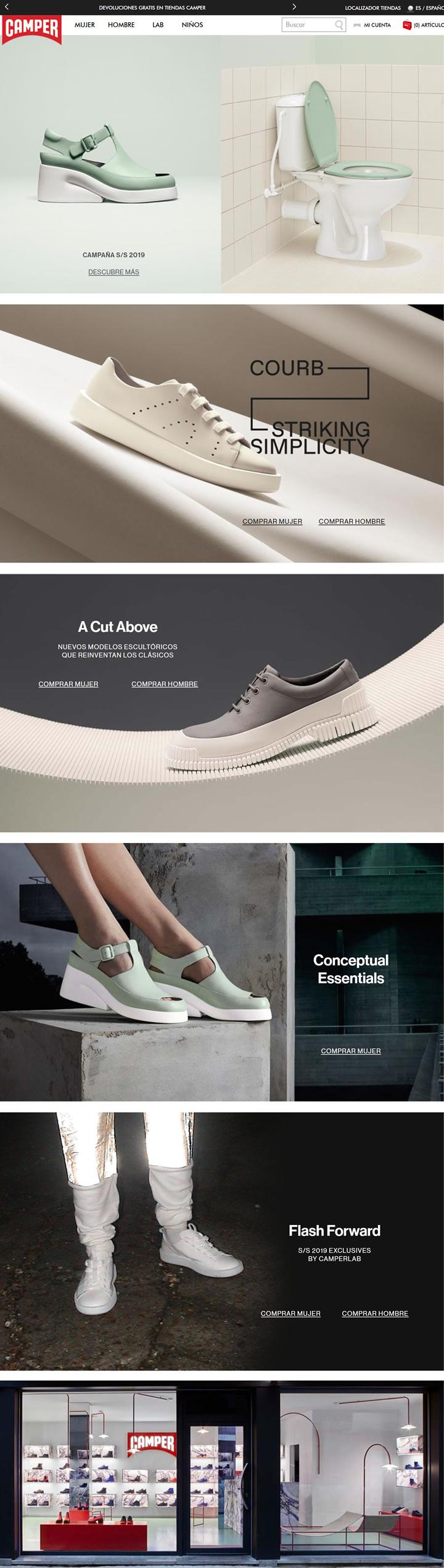 Camper鞋西班牙官方网上商店:西班牙马略卡岛的鞋类品牌