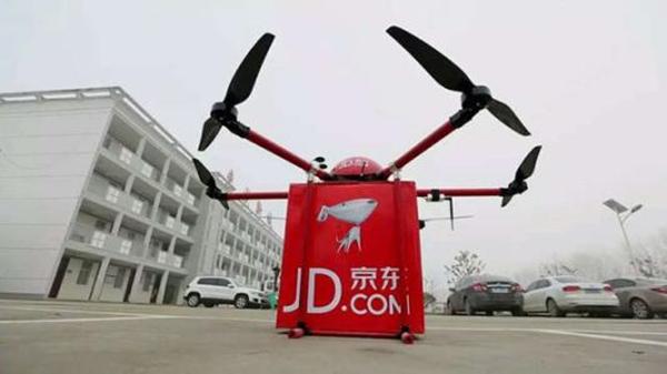 京东获全国首张无人机空域批文,称物流成本将降五成