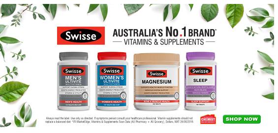 Chemist Warehouse Swisse 营养保健品 低至5折+立减5澳